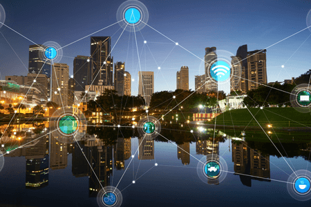 city iot connections